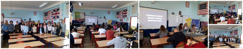 Wyniki Międzyszkolnego Konkursu Wiedzy o Krajach Anglojęzycznych